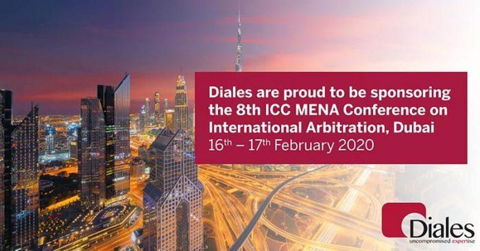 Diales ICC MENA sponsorship banner