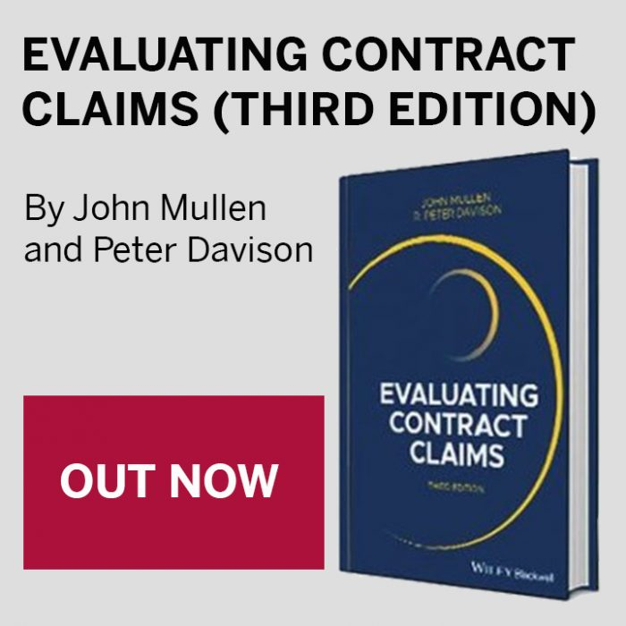 The updated edition of Evaluating Contract Claims