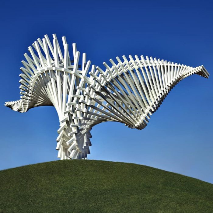 Diales Technical collaborate on latest sculpture from artist Gerry Judah