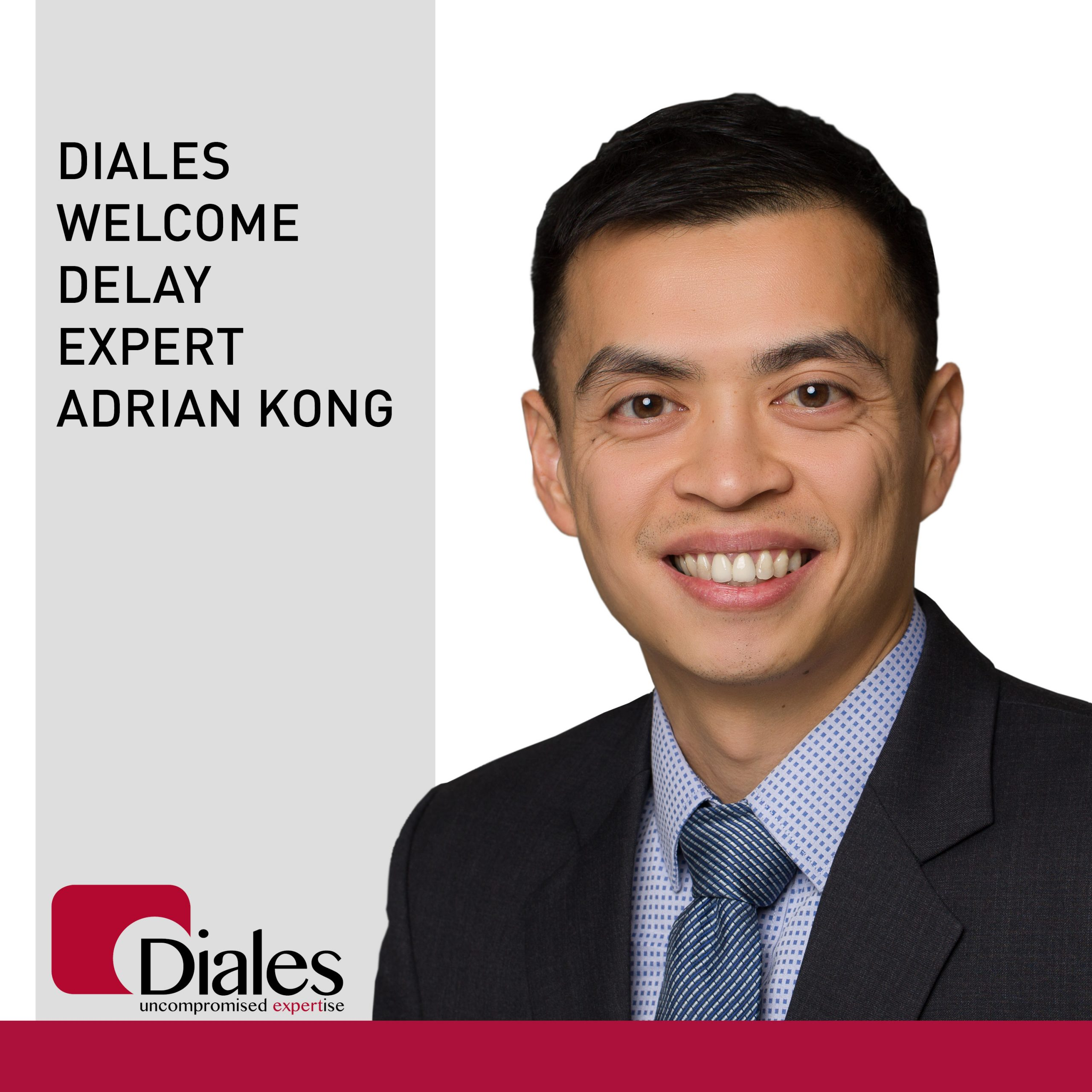 Diales welcome Adrian Kong to its team of experts