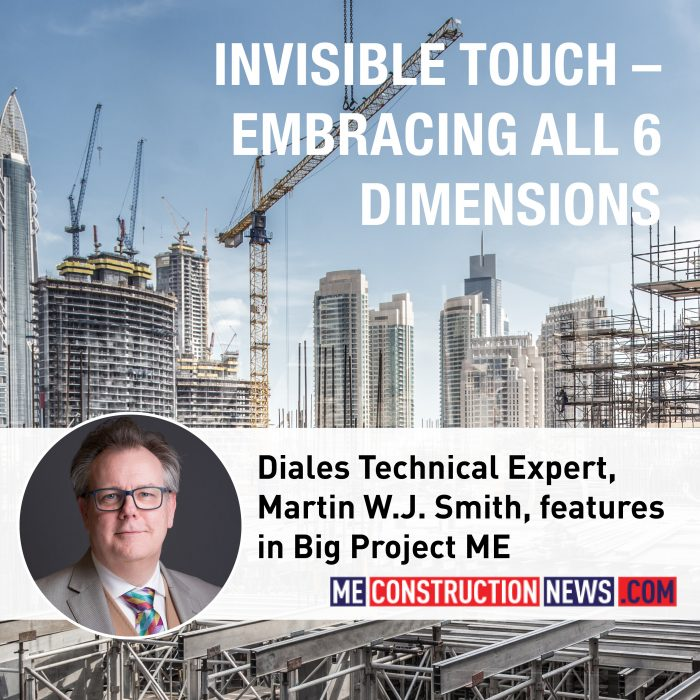 Diales Technical Expert, Martin W. J. Smith, features in Big Project ME