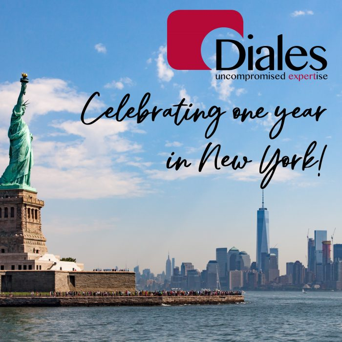 Diales celebrates our one year anniversary in New York